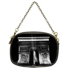 Vintage France Paris Triumphal arch 1970 Single-sided Evening Purse