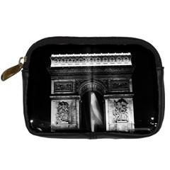 Vintage France Paris Triumphal arch 1970 Compact Camera Case