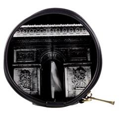 Vintage France Paris Triumphal arch 1970 Mini Makeup Case