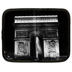 Vintage France Paris Triumphal arch 1970 13  Netbook Case