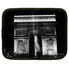Vintage France Paris Triumphal Arch 1970 15  Netbook Case