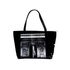 Vintage France Paris Triumphal Arch 1970 Large Shoulder Bag