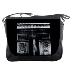 Vintage France Paris Triumphal arch 1970 Messenger Bag