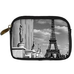 Vintage France Paris Eiffel tour Chaillot palace 1970 Compact Camera Case