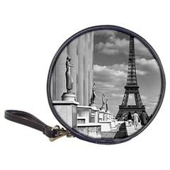 Vintage France Paris Eiffel tour Chaillot palace 1970 CD Wallet