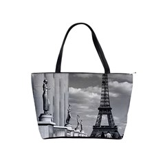Vintage France Paris Eiffel Tour Chaillot Palace 1970 Large Shoulder Bag