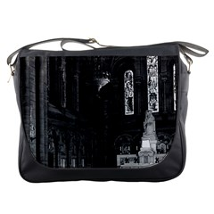 Vintage France Paris Sacre Coeur Basilica Virgin Chapel Messenger Bag