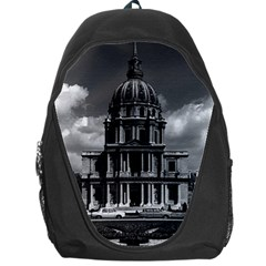 Vintage France Paris Church Saint Louis des Invalides Backpack Bag