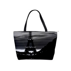 Vintage France Paris Eiffel tower reflection 1970 Large Shoulder Bag