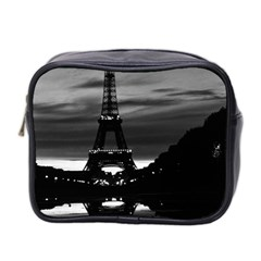 Vintage France Paris Eiffel tower reflection 1970 Twin-sided Cosmetic Case