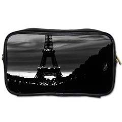 Vintage France Paris Eiffel tower reflection 1970 Single-sided Personal Care Bag