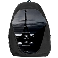 Vintage France Paris Eiffel tower reflection 1970 Backpack Bag