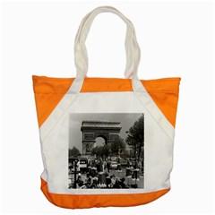 Vintage France Paris Triumphal arch 1970 Snap Tote Bag