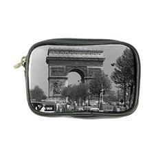 Vintage France Paris Triumphal Arch 1970 Ultra Compact Camera Case