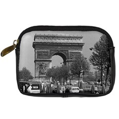 Vintage France Paris Triumphal arch 1970 Compact Camera Case