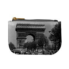 Vintage France Paris Triumphal arch 1970 Coin Change Purse