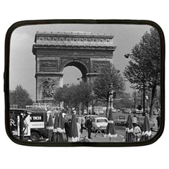 Vintage France Paris Triumphal arch 1970 13  Netbook Case