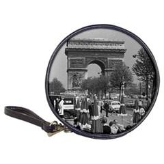 Vintage France Paris Triumphal arch 1970 CD Wallet