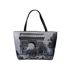 Vintage France Paris Triumphal arch 1970 Large Shoulder Bag