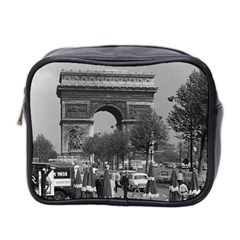 Vintage France Paris Triumphal arch 1970 Twin-sided Cosmetic Case