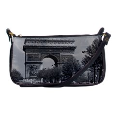 Vintage France Paris Triumphal arch 1970 Evening Bag