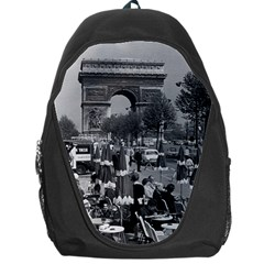 Vintage France Paris Triumphal arch 1970 Backpack Bag