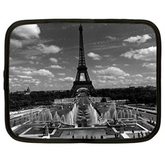 Vintage France Paris Fontain Chaillot Tour Eiffel 1970 12  Netbook Case