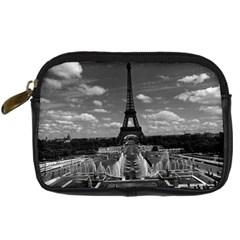 Vintage France Paris Fontain Chaillot Tour Eiffel 1970 Compact Camera Case