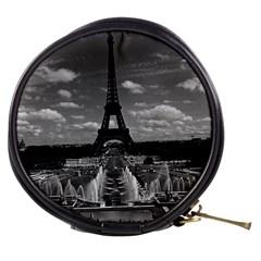 Vintage France Paris Fontain Chaillot Tour Eiffel 1970 Mini Makeup Case