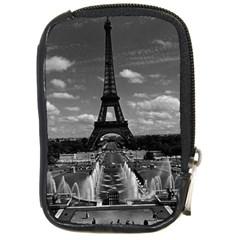Vintage France Paris Fontain Chaillot Tour Eiffel 1970 Digital Camera Case
