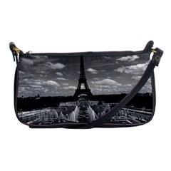 Vintage France Paris Fontain Chaillot Tour Eiffel 1970 Evening Bag