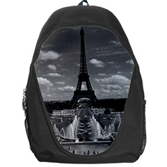 Vintage France Paris Fontain Chaillot Tour Eiffel 1970 Backpack Bag