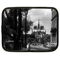 Vintage France Paris Notre Dame Saint Louis Island 1970 12  Netbook Case