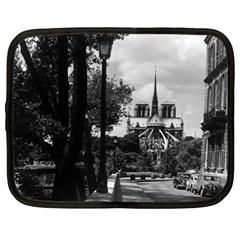 Vintage France Paris notre dame saint louis island 1970 12  Netbook Case