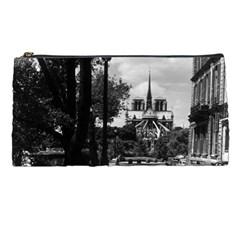 Vintage France Paris Notre Dame Saint Louis Island 1970 Pencil Case