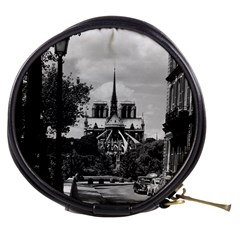 Vintage France Paris notre dame saint louis island 1970 Mini Makeup Case