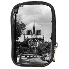 Vintage France Paris notre dame saint louis island 1970 Digital Camera Case