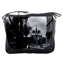 Vintage France Paris Notre Dame Saint Louis Island 1970 Messenger Bag