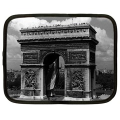 Vintage France Paris Triumphal arch  Place de l Etoile 12  Netbook Case