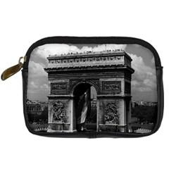Vintage France Paris Triumphal arch  Place de l Etoile Compact Camera Case
