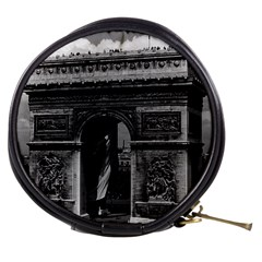 Vintage France Paris Triumphal arch  Place de l Etoile Mini Makeup Case