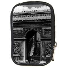 Vintage France Paris Triumphal Arch  Place De L etoile Digital Camera Case