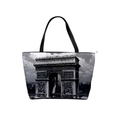 Vintage France Paris Triumphal Arch  Place De L etoile Large Shoulder Bag