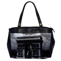 Vintage France Paris Triumphal arch  Place de l Etoile Single-sided Oversized Handbag