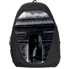 Vintage France Paris Triumphal arch  Place de l Etoile Backpack Bag