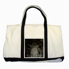Vintage France Paris Sacre Coeur Basilica Dome Jesus Two Toned Tote Bag