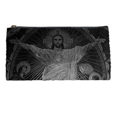 Vintage France Paris Sacre Coeur Basilica dome Jesus Pencil Case