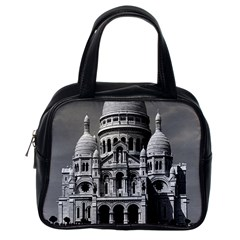 Vintage France Paris The Sacre Coeur Basilica 1970 Single-sided Satchel Handbag