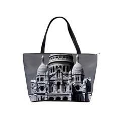 Vintage France Paris The Sacre Coeur Basilica 1970 Large Shoulder Bag