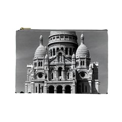 Vintage France Paris The Sacre Coeur Basilica 1970 Large Makeup Purse